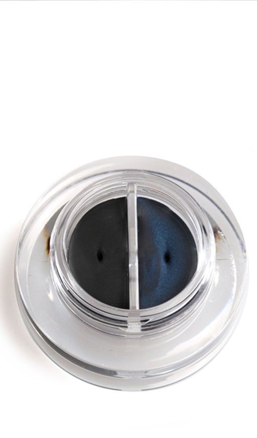 Lakshmi Creme Eyeliner Duo schwarz/blau biologisch