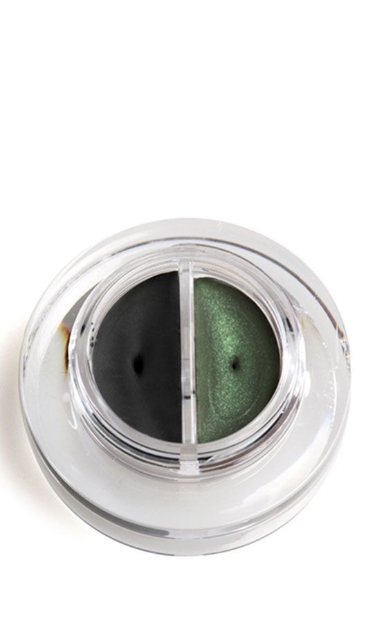 Lakshmi Creme Eyeliner Duo schwarz/grün Demeter