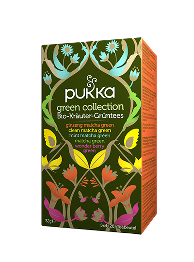 Pukka Green Collection Teeder Berry Green