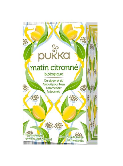 Pukka Matin Citronné thé bio