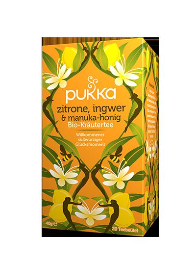 Pukka Zitrone Ingwer & Manuka-Honig