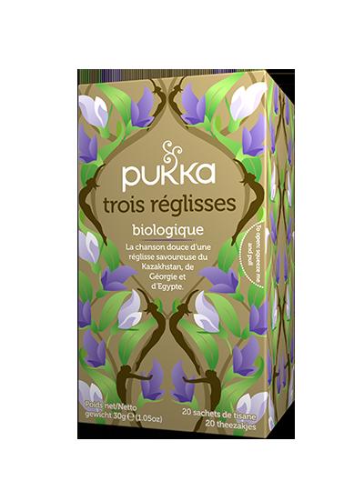 Pukka Trois Réglisses thé biologique