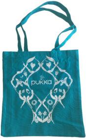 Pukka Tasche türkis bio