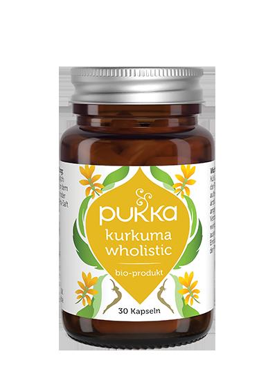Pukka Kurkuma Wholistic Nahrungsergänzungsmittel