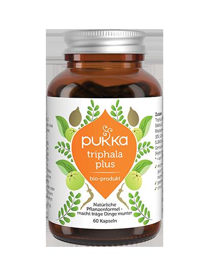 Pukka Triphala Plus Nahrungsergänzungsmittel