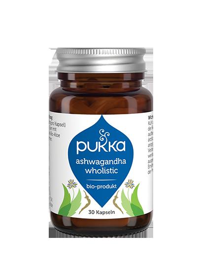 Pukka Ashwagandha Wholistic Nahrungsergänzungsmittel