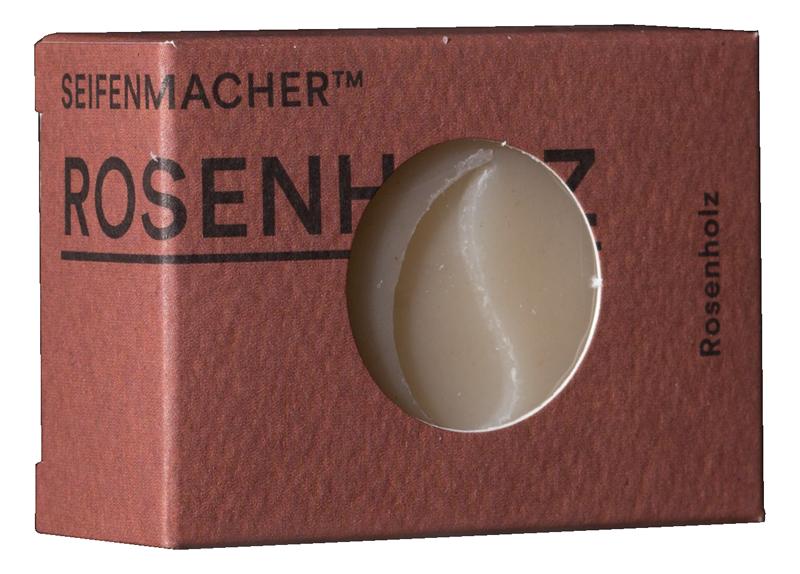 Seifenmacher Rosenholz Seife basisch