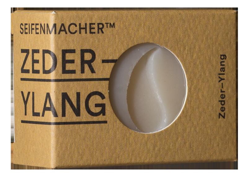 Seifenmacher Zeder-Ylang Seife basisch
